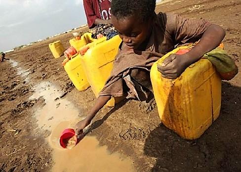 Girl Filling Water - Simanjiro