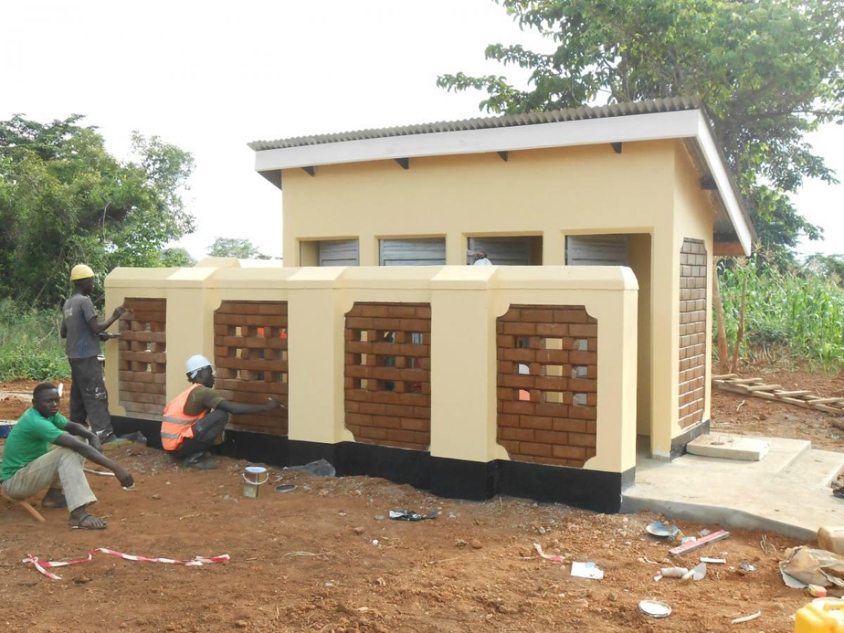 Kagumba Primary School ISSB Tank Project - Uganda