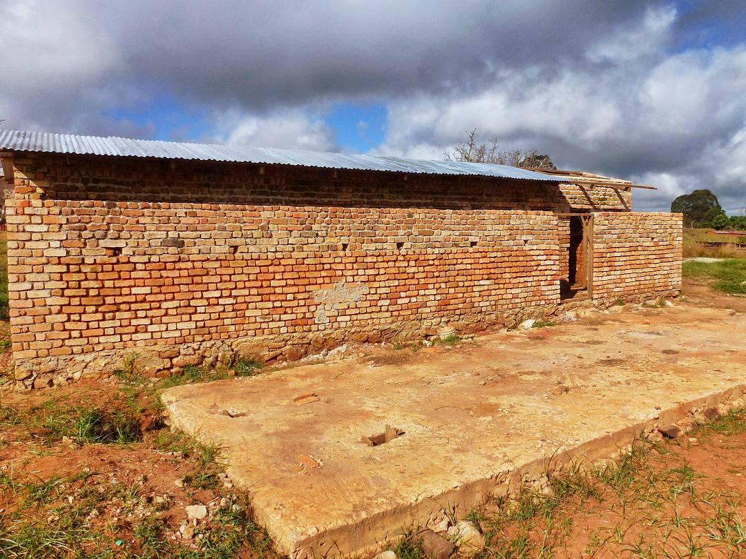 Igoma Primary School Toilets, Tanzania