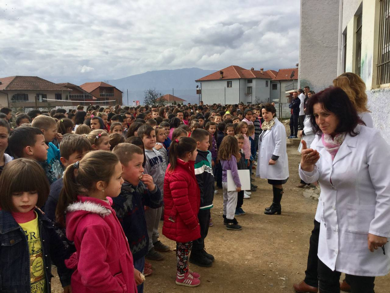 Conclusion of Maqellare School Water and Bathroom Project - Albania
