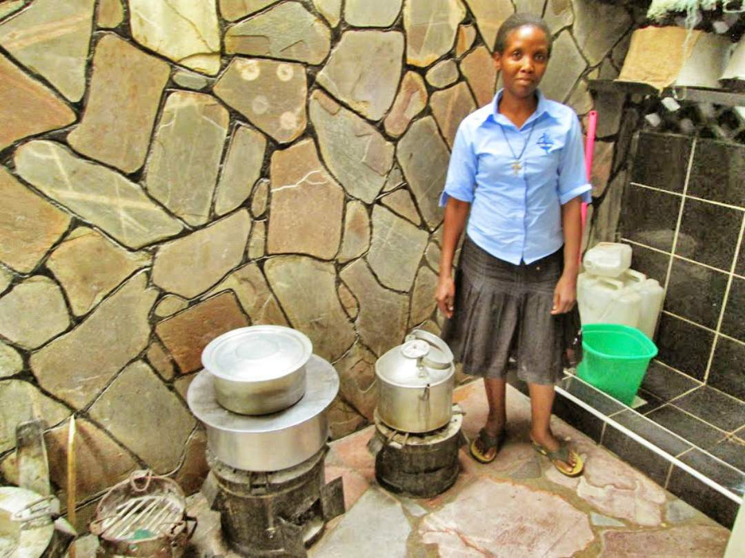 Boiling Water at Teresa Home Children's Home