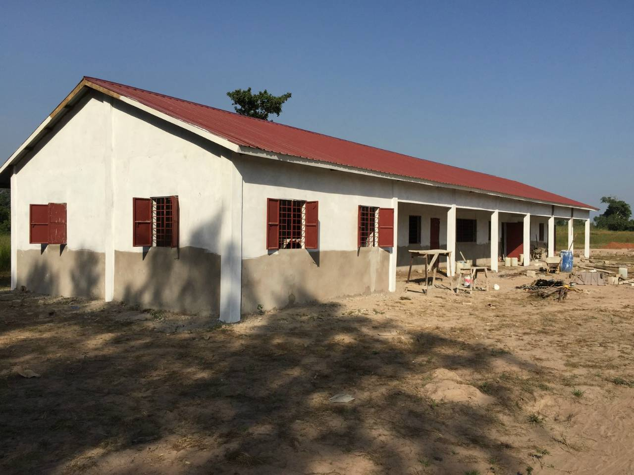 Fula Bantang Senior Secondary School Well Project - The Gambia