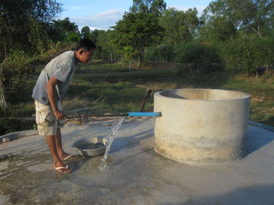 Conclusion of Thnot Chum Commune Well Project - Cambodia