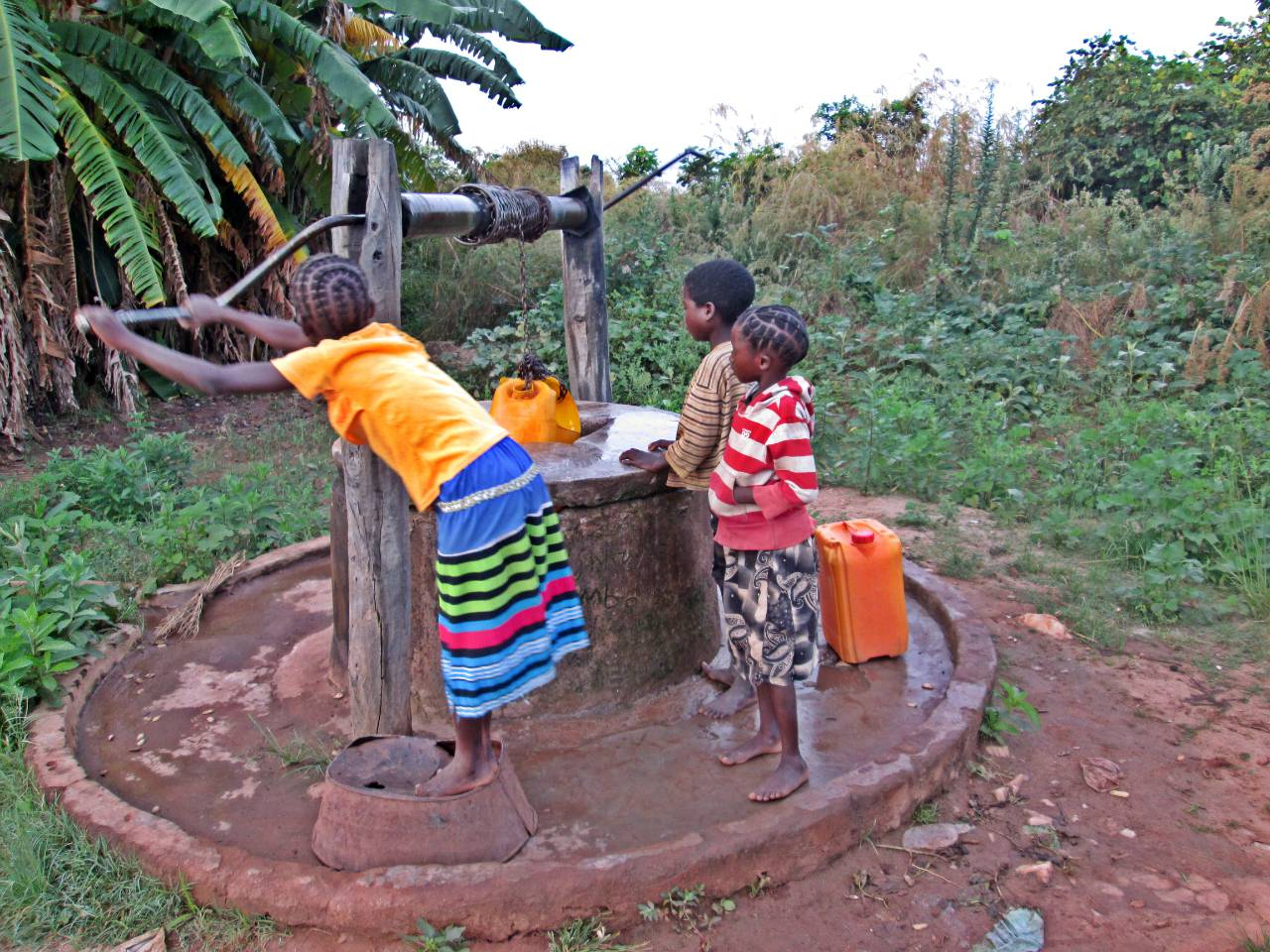 Chaliwa Borehole Project - Zambia