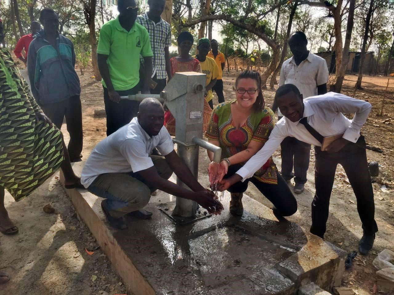 Conclusion of Ponyentanga Borehole Project - Ghana