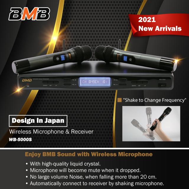 BMB UHF Wireless Microphone