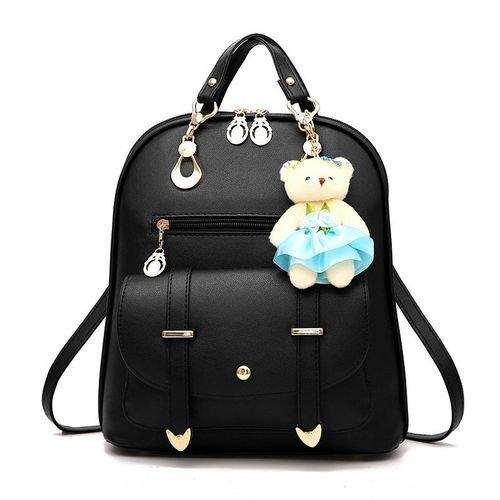 Ladies Backpack Handbag For Women Purse Satchel - Black - YourPadi - Marketplace